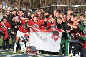 LIU Post Men's SoccerECC Champs 2012